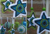 Lovely handmade ornaments