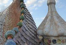 Maison Batlló / Une des maison de Gaudi à Barcelone