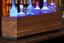 WOODEN BAR / wooden designer bar with LEG-technology