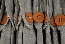 Buttons & Textiles: Plain / by Dixie Nichols