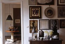Traditional Frame in a Modern Space