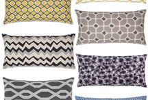 Подушки и текстиль