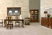 Muebles Madera / Muebles de madera artesanos en Nogal de www.aguirreartesanos.com