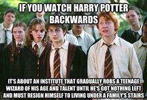 harry potter universe