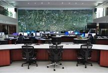 Interior ATCS / CCTV Room Pantauan Lalu Lintas