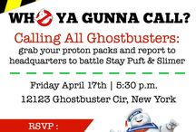 Oli's ghostbuster party