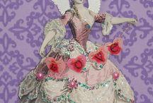 Paper Dolls & Victorian Scrap