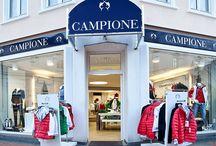 Shops & Stores / CAMPIONE bietet variable Partnerkonzepte an. Professionelle und effektive Unterstützung garantieren Erfolg.