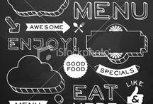Restaurant bord
