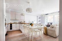 Decoroom: Warszawa, ul. Terespolska / Mieszkanie w stylu rustykalnym.  #decoroom #realizacje #projektowaniewnetrz #warszawa #wnetrza