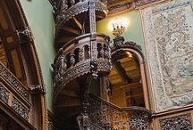 Decor: Stairways Wondrous & Strange / by Grim Cauldron Craft Oddities
