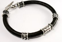 Mens Jewelry / Handmade sterling silver jewelry