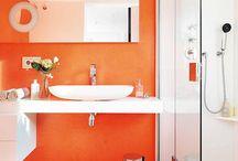Bathroom * Orange