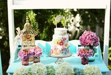 Shabby chic / Having a different theme is great for your next event.  Let us help you create that look.  www.yourmainstream.com