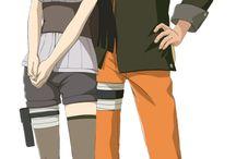 Naruto uzumaki + Hinata hyuga
