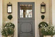 Drzwi i elewacja