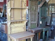 Crafty furniture and home dec / Inspiration for thrift store, curbside, and worn out furniture / by Paige Prather