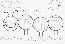 pracovní listy - grafomotorika