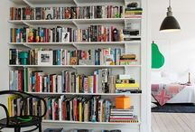 Raflar / Shelves for books / Storing and displaying books at home
