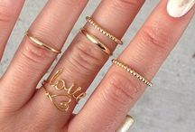 Bada BLING / #jewelry #minimalist #rings #necklaces #earring #accessories