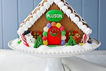 Gourmet gingerbread houses to buy, sometimes personalize, and have shipped as Christmas gifts for the whole family / Gourmet gingerbread houses to buy, sometimes personalize, and have shipped as Christmas gifts for the whole family / by Jacinda Buchanan