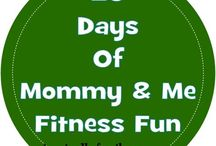 Fitness with toddler