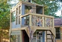 Tree Houses & Cool Cabins