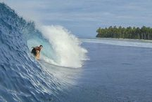MENTAWIS / The Mentawai Islands are legendary, and every surfer should visit at least once in their life. The islands are open to almost every swell direction, with world class reef breaks littered everywhere, it is one of the most surf rich regions in the world. Perfection is everywhere and your average Mentawai surf spot will deliver world class fun.