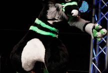 fursuits / its like cosplay only not really