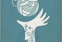 knitting illustrations