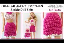 Barbie; crochet