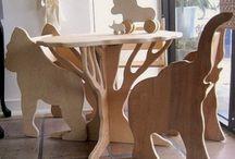 Παιδικά έπιπλα ξύλου