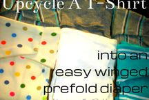 Cloth Diapering / DIY directions for cloth diapers / by Sarah McBride