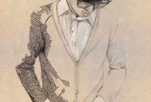 Fashion Ilustration Male Figures