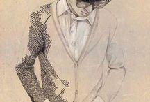 Fashion Ilustration Male Figures