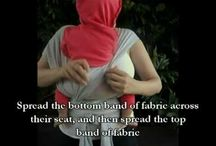 Instructions / This is how to wear your Little D's baby carrier properly and safely / by Little D's