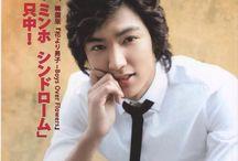 Lee Min Ho on Magazines
