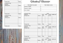 Fitness Planners - weight loss help and plan / fitness planners and forms