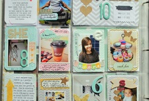 CRAFTS Scrapbooking Layouts PML/PL / by Judy G