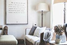 Living Room - Inspiration / by Aleksandra Ptak