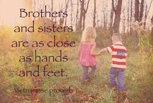 Quotes: Loss of Sibling / Popular quotes on the loss of a sibling by famous authors, celebrities, and newsmakers. Pin a quote that provides you with comfort or inspiration in your time of need.