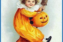 Halloween. / Halloween vintage cards / by Edwige Gendron