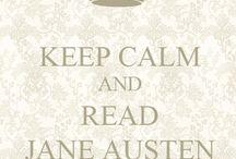 Jane Austen / Because all things Jane inspire me.