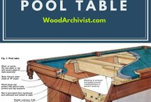 Pool Table Project / Ideas, inspirations, and details regarding building pool tables.