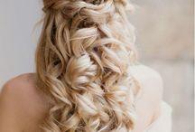 Wedding Hair & Earrings