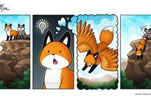 Stupid fox comics