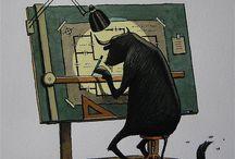 Franco Matticcino1957 / Italiaans illustrator