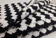 crochet blanket - bebek battaniyesi / örgü