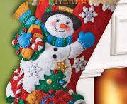 フェルトのクリスマス