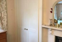Traditional White Fitted Wardrobe with Bespoke Shelving